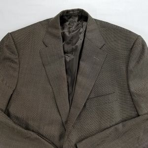 Corneliani Italy Sport Coat Suit Pure Virgin Wool